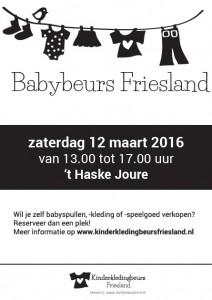 Flyer Babybeurs 12 maart 2016
